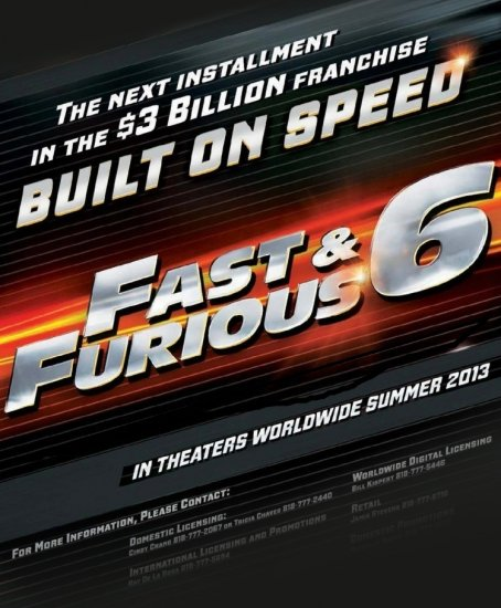 онлайн Форсаж 6 The Fast and the Furious 6